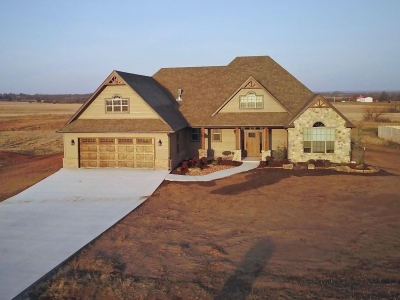 New homes in Shawnee OK, New home builder Homes By DHR