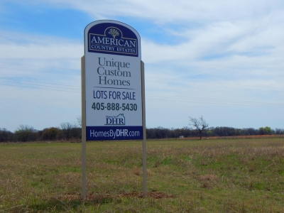 Lot Sales, Shawnee OK, American Country Estates